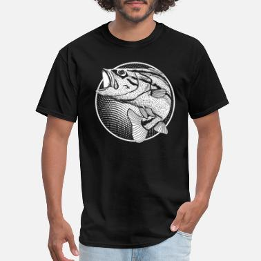 Fishing Husband Fisherman - Fishing husband, fishing wife , - Men's T-Shirt