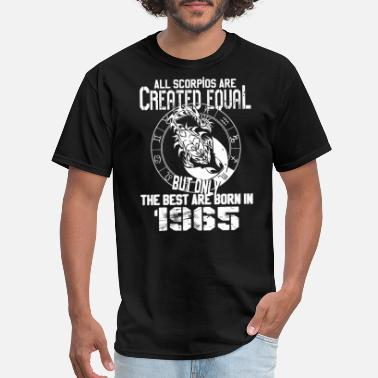 Scorpion And Frog Scorpio - Best Scorpios are born in 1965 t-shirt - Men's T-Shirt