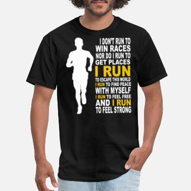 Dexys Midnight Runners Run - I run to feel free and to feel strong - Men's T-Shirt