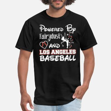 Los Angeles County Sheriff Los Angeles baseball - Powered by fairydust - Men's T-Shirt