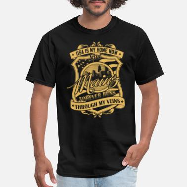Mainz Mainz Germany forever runs through my veins - Men's T-Shirt
