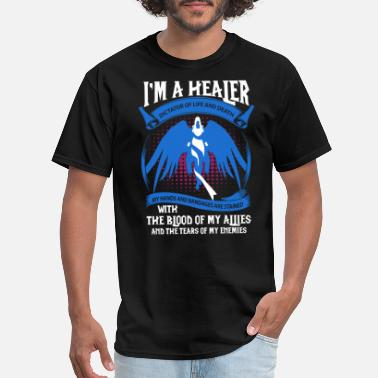 Two Thousand And Twelve Healer - My hands and bandages are stained - Men's T-Shirt