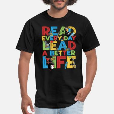 Childrens Books Children book day - Children book day - read eve - Men's T-Shirt