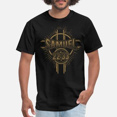God Is My Strength And Power Samuel 22:33 - God is my strength and power - Men's T-Shirt