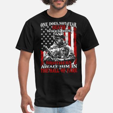 Porn United States Of America Patriot - Brothers await him in the hall of fame - Men's T-Shirt