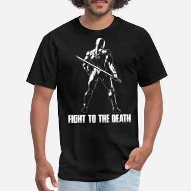 Fighting Death Fight to the death - Men's T-Shirt