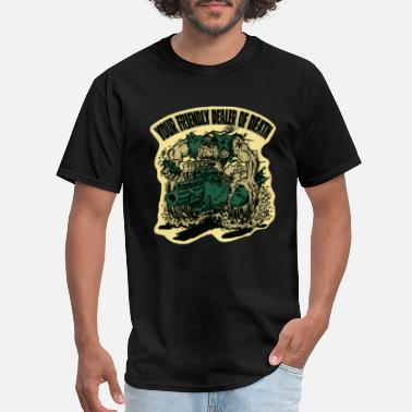 Death Dealer US Marine Corps - Your friendly dealer of death - Men's T-Shirt