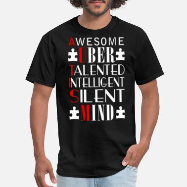 Uber Uber - Awesome uber talented intelligent tee - Men's T-Shirt