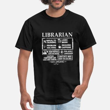 Batgirl Was A Librarian Librarian - Librarian is a multi tasking job - Men's T-Shirt