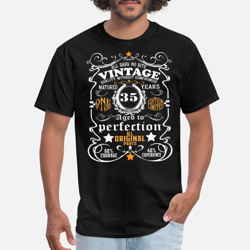 Men/'s 35th Birthday T-Shirt 1984 Vintage Man Thirty Fifth 35 years Gift