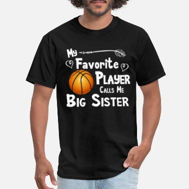 my favorite player calls me big brother t shirts - Men's T-Shirt