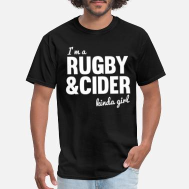 Fucked Rugby i m rugby and cider science - Men's T-Shirt