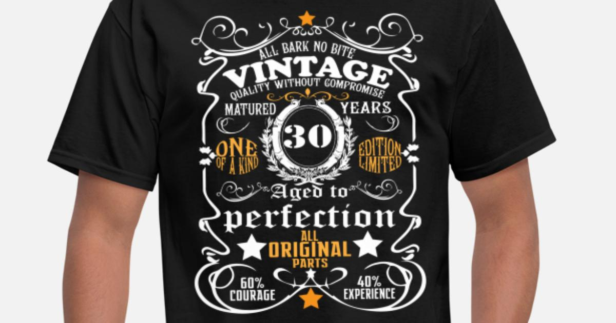 bbfa575d83 30th Birthday Shirt 30th shirt Funny Birthday tee Men's T-Shirt |  Spreadshirt
