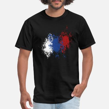 Russian Culture russian splatter - Men's T-Shirt