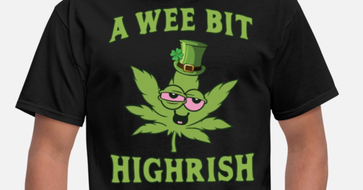 Men's t-shirt funny saying beer drunk 420 stoned pot tee shirt for men dark gray Herrenmode