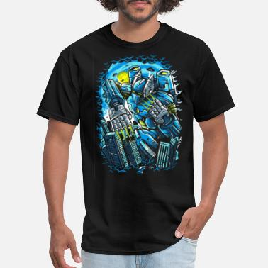 Macross Giant Mecha Robot Anime - Men's T-Shirt