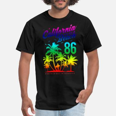 California Malibu California Malibu Beach 2 - Men's T-Shirt