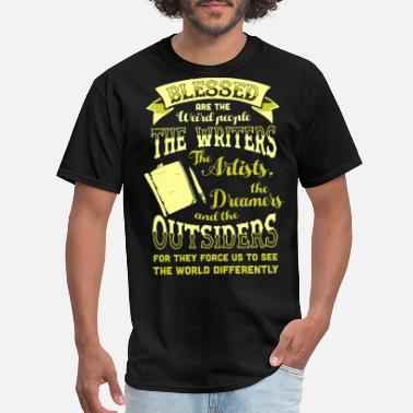Blessed Are The Weird People Blessed Are The Weird People The Writers - Men's T-Shirt