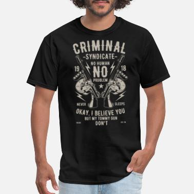 Syndicate Criminal Syndicate - Men's T-Shirt