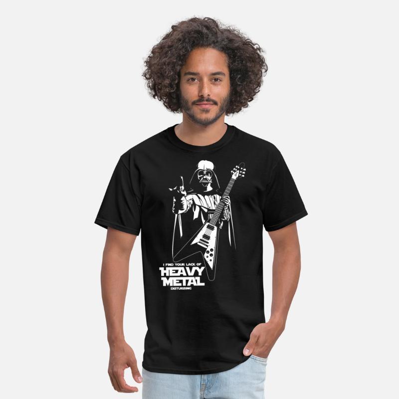 Star Wars Heavy Metal Darth Vader Men's T Shirt | Spreadshirt