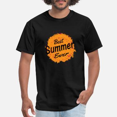 Best Summer Ever Best Summer Ever Sun And Splatter Paint - Men's T-Shirt