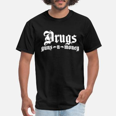 Hip Hop Money Bone Thugs Harmony Drugs Guns Money Hip Hop Bi - Men's T-Shirt