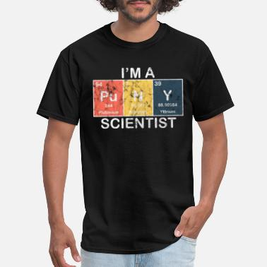 Chemistry Science - I'm a scientist - Men's T-Shirt