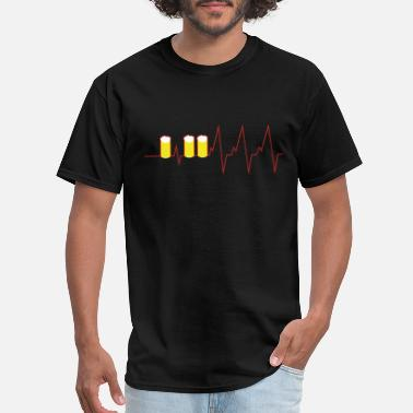Red Line Heartbeat red line - Men's T-Shirt