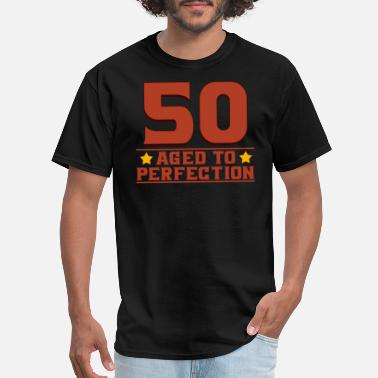 Fifties Quotes 50 fifty - Men's T-Shirt