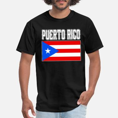 Puerto Rico Puerto Rican Country Flag Nationality - Men's T-Shirt