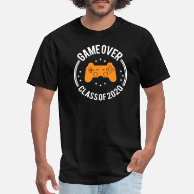 Game Game Over Class of 2020 Funny Graduation Gifts - Men's T-Shirt