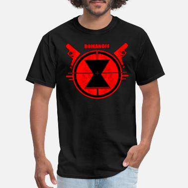 Black Widow Black Widow Desing - Men's T-Shirt