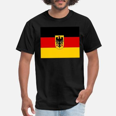 German Flag German flag, - Men's T-Shirt