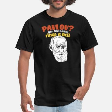82aa07dc Psychology PSYCHOLOGY: Pavlov rings a bell gift idea present - Men's. Men's  T-Shirt