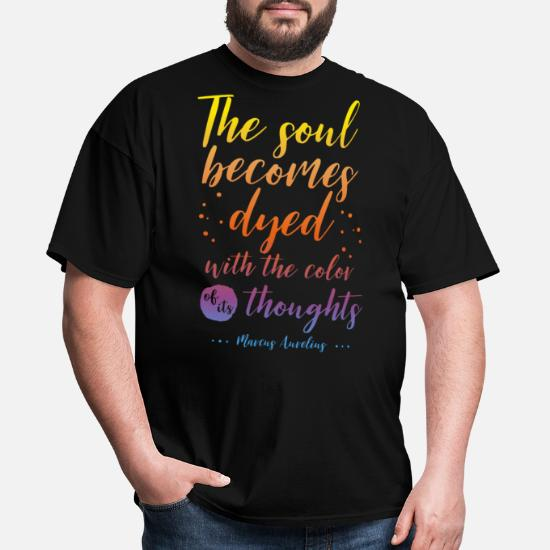 2XL Seneca Motivational Quote T-shirt Inspirational Saying New Men/'s Tee Top S