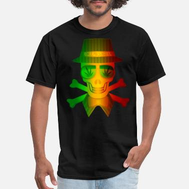 Rasta Man Rasta Man Rebel - Men's T-Shirt