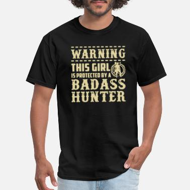 Protected This Girl Is Protected By A Hunter Shirt - Men's T-Shirt