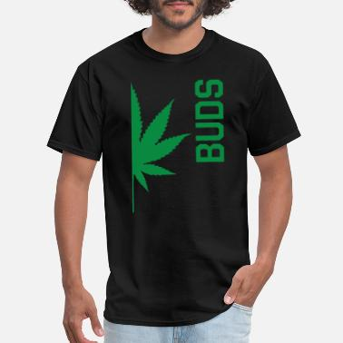 Dope Irish Best Buds Couples BUDS Matching Canabis Dope Weed - Men's T-Shirt