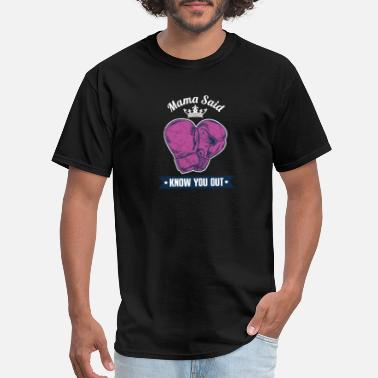 Knock You Out Knock You Out-Boxing - Men's T-Shirt