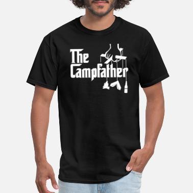 b02fd1c04d Camper Campfather Dad Tent Camper Camping Tshirt Gift - Men's T-. Men's  T-Shirt