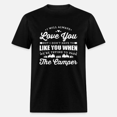 b2590054c Funny Camping TShirt For Happy Camper Men's Premium T-Shirt ...