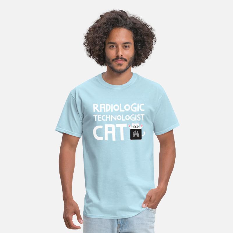 d760ec13a9 X Ray Cat Rad Tech Radiology Barium Funny T Shirt Men's T-Shirt |  Spreadshirt