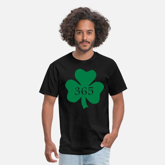 Day T-Shirts - shamrock 365 - Men's T-Shirt black