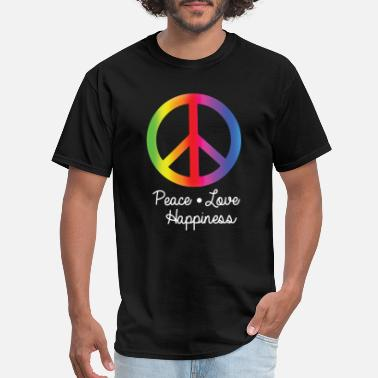 Peace Love Happiness Peace Love Happiness - Men's T-Shirt