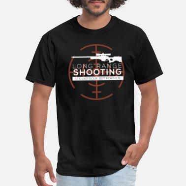 Range Long Range Shooting - Men's T-Shirt