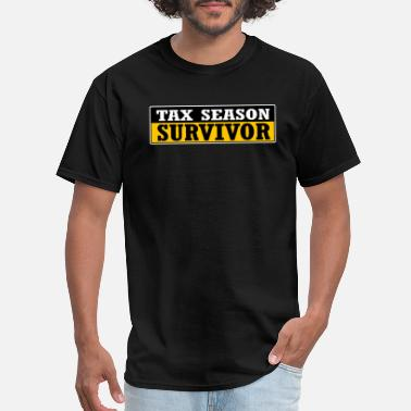 Season Tax Season Survivor - Men's T-Shirt