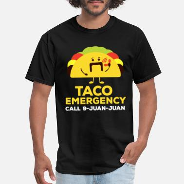 taco emergency call 9 juan juan music police - Men's T-Shirt