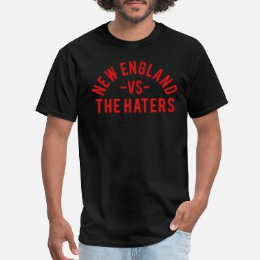 New England New England vs. The Haters - Men's T-Shirt