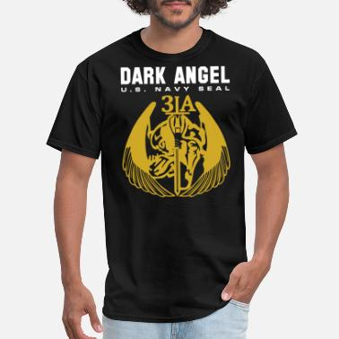 Us Army Seal NAVY SEAL US ARMY SPECIAL FORCE DARK ANGEL TEAM - Men's T-Shirt