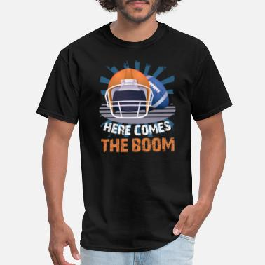 Here Comes The Boom Football Here Comes The Boom - Men's T-Shirt